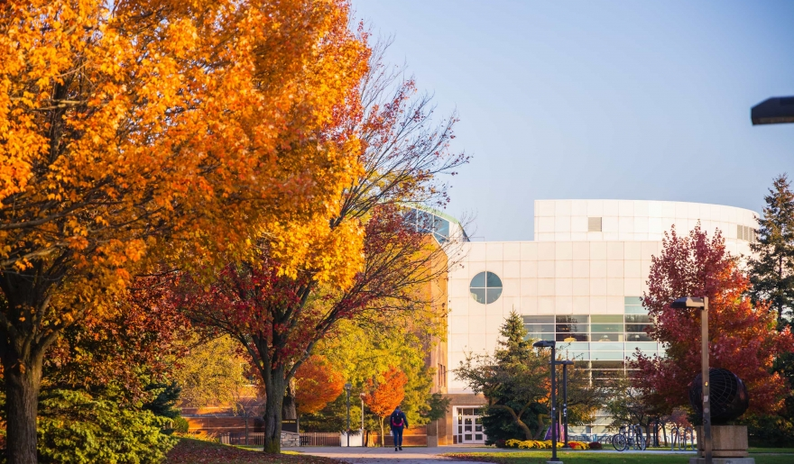 CMU Campus during Fall