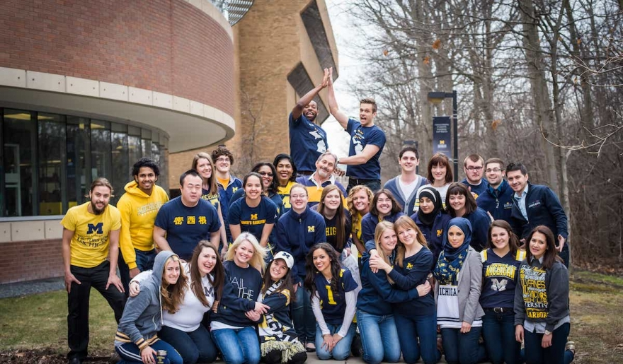 University of Michigan Dearborn students